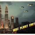 Ufo Postcards Home By Raphael Terra by Raphael Terra