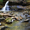 Upper Falls Holly River State Park by Thomas R Fletcher