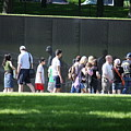 Vietnam Wall by William Rogers