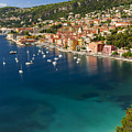 Villefranche-sur-mer View On French Riviera by Elena Elisseeva