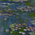 Water Lilies 1916 by Claude Monet