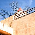 Windmill - Trapani Salt Flats by Kayme Clark