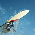 Windsurfing by Janet Giles