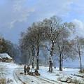 Winterlandschap by MotionAge Designs