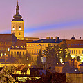 Zagreb Historic Upper Town Night View by Brch Photography