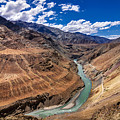 Zanskar River Ladakh Jammu And Kashmir India by Rudra Narayan  Mitra