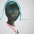 Dinka Bride - South Sudan by Gloria Ssali