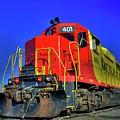 Rock And Rail Engine 401 by Tony Baca