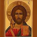 Jesus Christ Religious Art by Carol Jackson