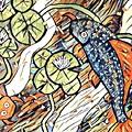 Koi Fish by Melinda Sullivan Image and Design