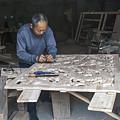 4466- Wood Carver by David Lange