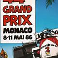 44th Monaco Grand Prix 1986 by Georgia Fowler