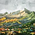 Watercolor by Ugljesa Janjic