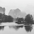 Yulong River Scenery by Carl Ning