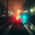 47015 Miscellaneous Rail Track Rail Track And Lights by Mery Moon