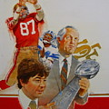 49rs Media Guide Cover 1982 by Cliff Spohn