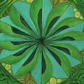 4th Mandala - Heart Chakra by Jennifer Christenson