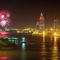 4th Of July In Mobile by Brad Boland