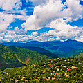 4x1 Philippines Panorama Baguio by Rolf Bertram