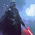 A Star Wars Art by Larry Jones