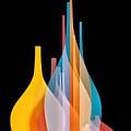 Abstract Wall Design by Ziya Tatar