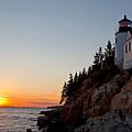 Bass Harbor Head Lighthouse Acadia National Park by Jason O Watson