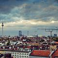 Berlin Skyline by Alexander Voss