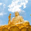 Big Golden Buddha by Nikita Buida