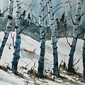 Birch Trees by James Lagasse