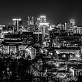 Birmingham Alabama Evening Skyline by Alex Grichenko