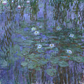 Blue Water Lilies by Claude Monet