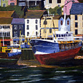 Brixham Harbour by Mike Lester