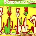 5 Cats On A Piano by David Fontaine Radden