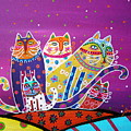 5 Cats by Pristine Cartera Turkus