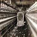 Child Laborer Portrayed By Lewis Hine by Everett