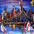Cityscape by Mark Kazav