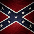 Confederate Flag 8 by Les Cunliffe