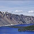Crater Lake Oregon by Toula Mavridou-Messer