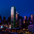 Dallas At Dusk by Mountain Dreams