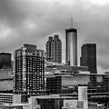 Downtown Atlanta, Georgia Usa Skyline by Alex Grichenko