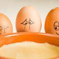 Eggs Have Feelings Too by Ernesto Santos