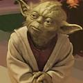 Episode 2 Star Wars Poster by Larry Jones