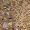 Expectation  by Gustav Klimt