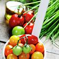 Fresh Tomatoes by Natalia Klenova