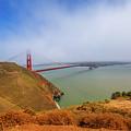 Golden Gate Bridge Vista Point by Benny Marty