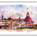 Hotel Del Coronado by Margie Wildblood