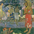 Ia Orana Maria Hail Mary by Paul Gauguin