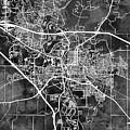 Iowa City Map by Michael Tompsett