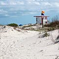 Jetty Park On Cape Canaveral In Florida by Allan  Hughes