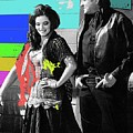 June Carter Cash Johnny Cash In Costume Old Tucson Az 1971-2008 by David Lee Guss